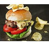 Hamburger, Cheeseburger, American Cuisine