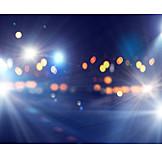 Hintergrund, Nachtleben, Lichter, Scheinwerferlicht
