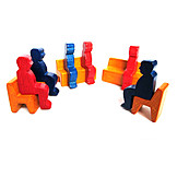 Besprechung & Unterhaltung, Gruppe, Gespräch, Stuhlkreis