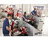 Industry, Engineering, Machines, Metalworking, Production Hall