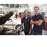 Auto, Kfz-mechaniker, Werkstatt, Mechaniker