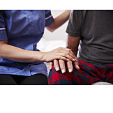 Hands, Touching, Compassion, Short-term Care, In-home Nursing Care, Assistance