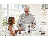 Großvater, Zubereitung, Heißgetränk, Enkelin