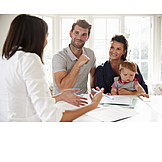Baby, Vater, Mutter, Beratungsgespräch, Absicherung, Adoption
