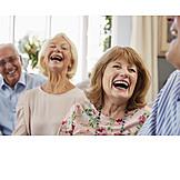 Laughing, Friendship, Fun, Joy, Seniors