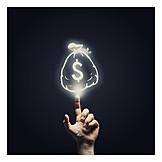 Finanzen, Erspartes, Reichtum, Investition