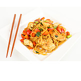Asian Cuisine, Pasta Dish