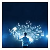 Plan, Geschäftsidee, Brainstorming, Projektmanagement