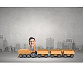 Logistik, Versand, Handel, Güterverkehr