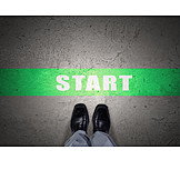 Businessman, Start, Job