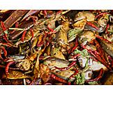 Asian Cuisine, Fish Meal