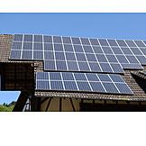 Solarzellen, Alternativenergie, Solardach