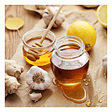 Honig, Knoblauch, Alternative Medizin, Erkältungszeit