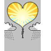 Love, Sun, Heart