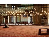 Mosque, Praying, Muslim, Prayer, Spiritual