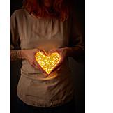 Liebe, Licht, Valentinstag