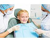 Girl, Dentist, Dentist