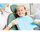Zahnarztbesuch, Zahnärztin, Kinderzahnarzt