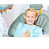 Girl, Dentist Visit, Dentist