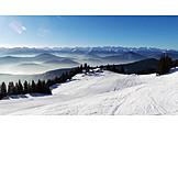 European alps, Winter sport, Karwendel