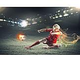 Energy, Soccer, Football Player