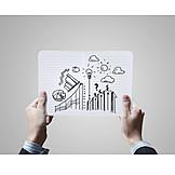 Growth, Economy, Success, Diagram