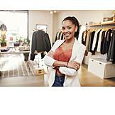 Shop, Sales executive, Fashion store