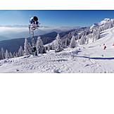 Winter sport, Skiing, Snow machine