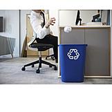 Büro, Recycling, Nachhaltigkeit