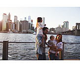 Child, City Trip, New York, Family Outing