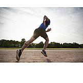 Laufen, Sportler, Sprint