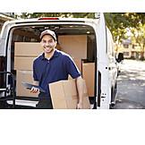 Mail, Delivery, Postman, Messenger