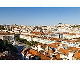 City view, Lisbon, Baixa