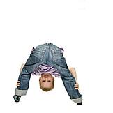 Boy, Child, Gymnastics, Flexible, Straddle