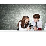 Entdeckung, Schulfach, Chemielabor, Chemieunterricht