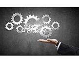 Teamarbeit, Industrialisierung, Unterstützung, Prozess