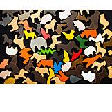 Animals, Wooden Toys
