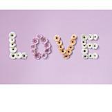 Valentinstag, Gerbera, Love