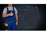 Handwerker, Standort, Deutschlandkarte