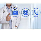 Communication, Doctor, Contact, Hospital