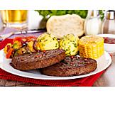 Frikadeller, Bbq, Barbeque Plate