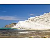 Coast, Rocks, Sicily, Agrigento, Scala dei turchi
