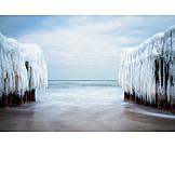 Baltic Sea, Ice, Waterbreak