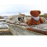 Holiday & Travel, On The Move, Boat, Teddy Bear, Boating