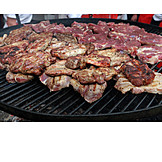 Broiling, Grilled Meat, Barbecue