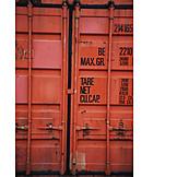 Cargo container, Export