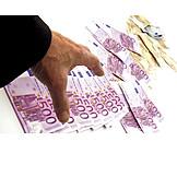 Money, Euro Notes, Greed