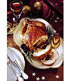 Christmas dinner, Roast turkey