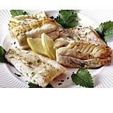 Fischgericht, Zanderfilet