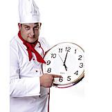 Gastronomie, Pünktlich, Küchenchef